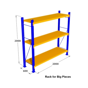 3. Rak Medium Duty for Big Pieces Rack
