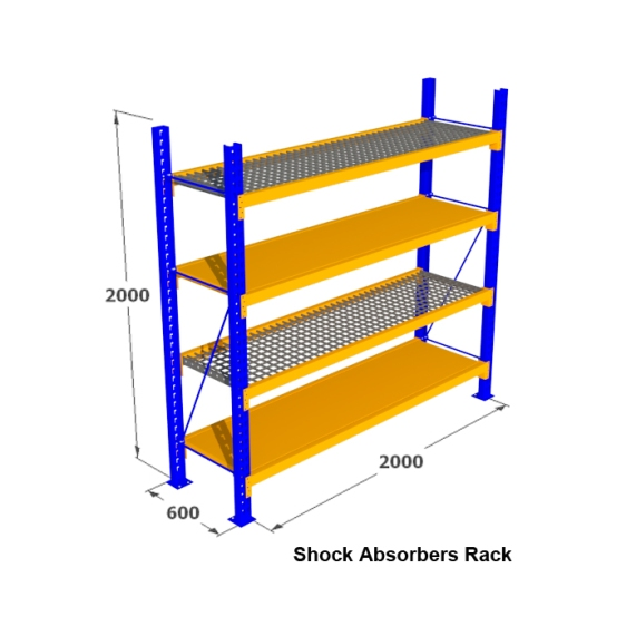 6. Rak Medium Duty for Shock Absorbers Rack