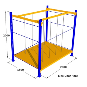 7. Rak Medium Duty for Side Door Rack