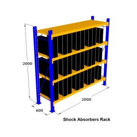 8. Rak Medium Duty for Side Windshield Rack