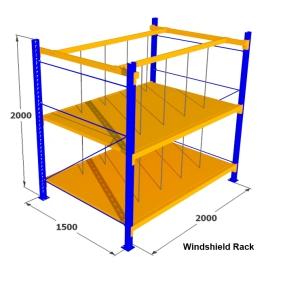 9. Rak Medium Duty for Windshield Rack