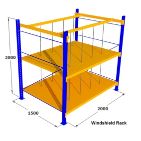 9. Rak Medium Duty for Windshield Rack