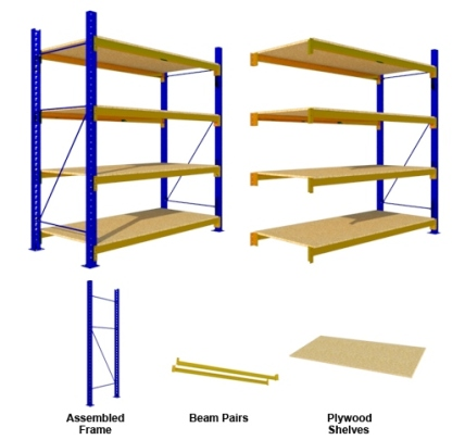 Rak Medium Duty Plywood Shelves
