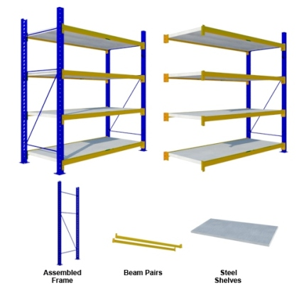 Rak Medium Duty Steel Shelves